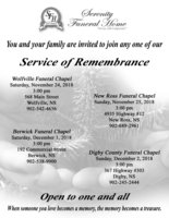 Service of Remembrance
